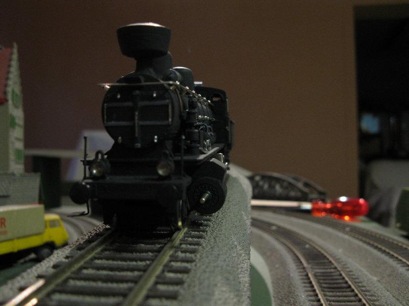 Vorserien Modell einer österr.Dampflok der Reihe 56 angeblich von Liliput 10127491wv
