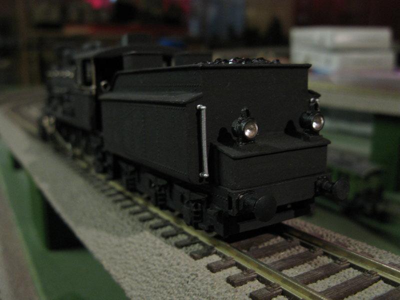 Vorserien Modell einer österr.Dampflok der Reihe 56 angeblich von Liliput 10127662hd