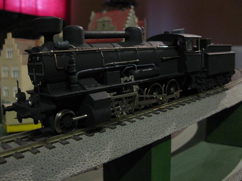 Vorserien Modell einer österr.Dampflok der Reihe 56 angeblich von Liliput 10128390is
