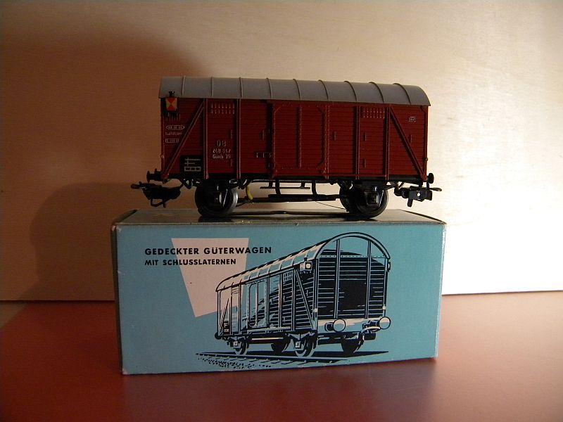 Gedeckter Güterwagen Gmh 39 der DB - Märklin #4506 10148758yt