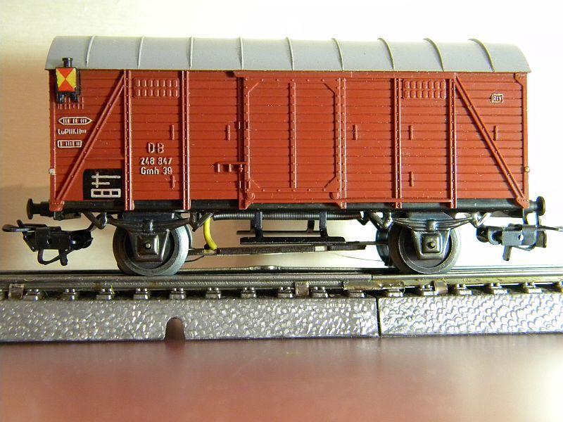 Gedeckter Güterwagen Gmh 39 der DB - Märklin #4506 10148760wr