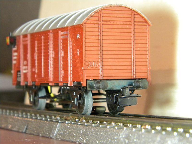 Gedeckter Güterwagen Gmh 39 der DB - Märklin #4506 10148763at