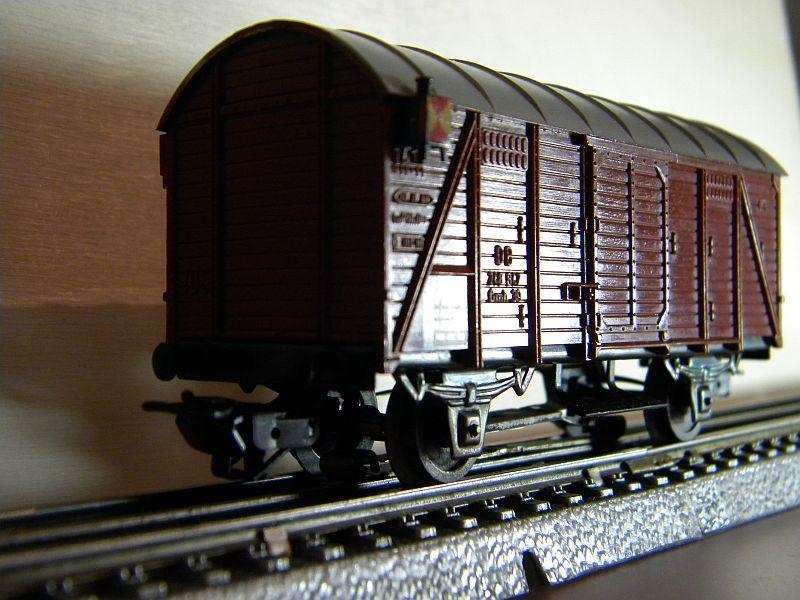 Gedeckter Güterwagen Gmh 39 der DB - Märklin #4506 10148764uh