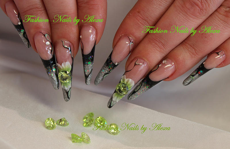 green moments nailart selbstgemacht forum f r. Black Bedroom Furniture Sets. Home Design Ideas