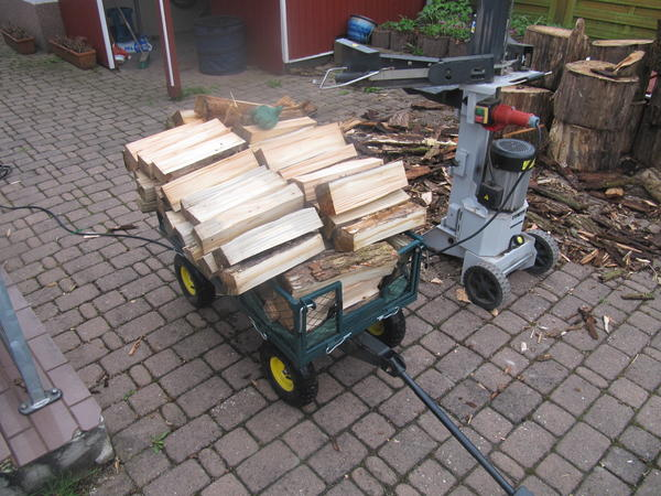 ding wo man holz rein stabelt
