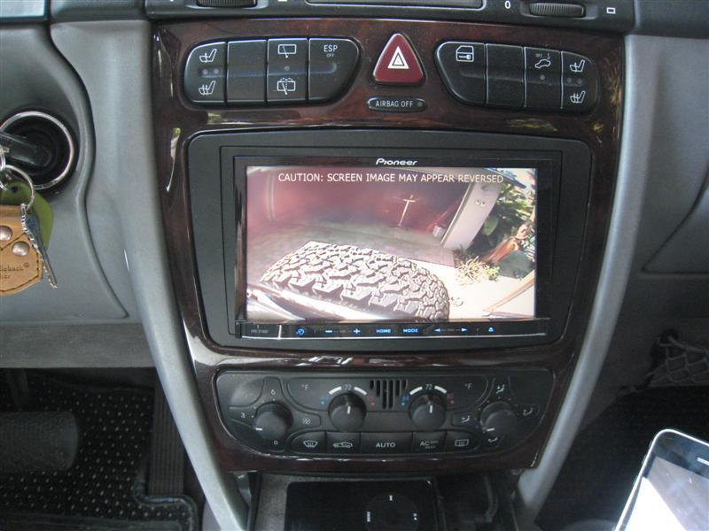 Rear View Camera Installation Mercedes Benz Forum