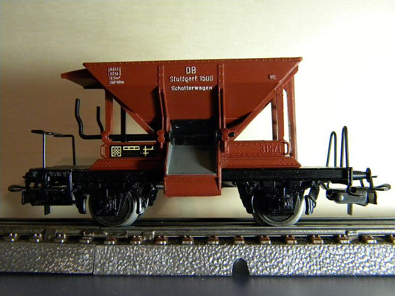 Schotterwagen der DB, Typ Talbot,  Märklin #4610 10218349lj