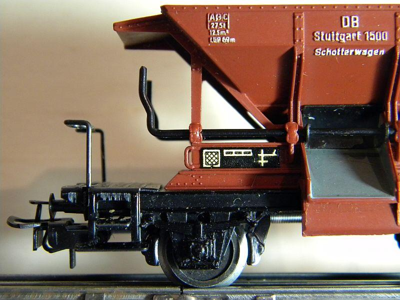 Schotterwagen der DB, Typ Talbot,  Märklin #4610 10218351ht