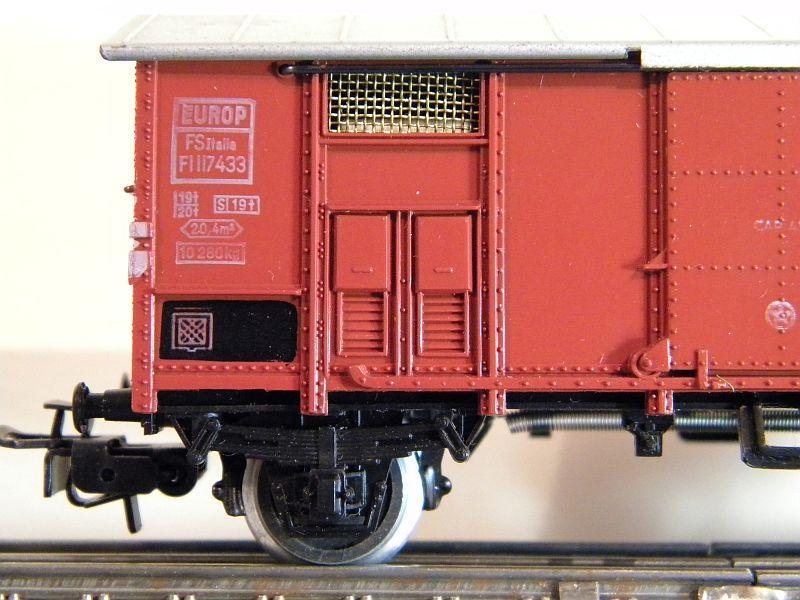 Gedeckter Güterwagen der FS, 2 Achsen, Märklin #4550 10218520pc