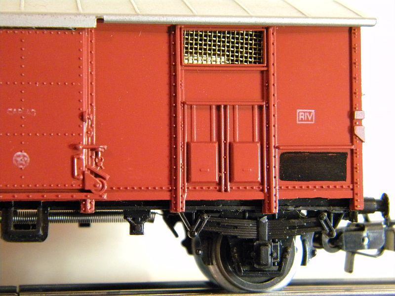 Gedeckter Güterwagen der FS, 2 Achsen, Märklin #4550 10218522mm