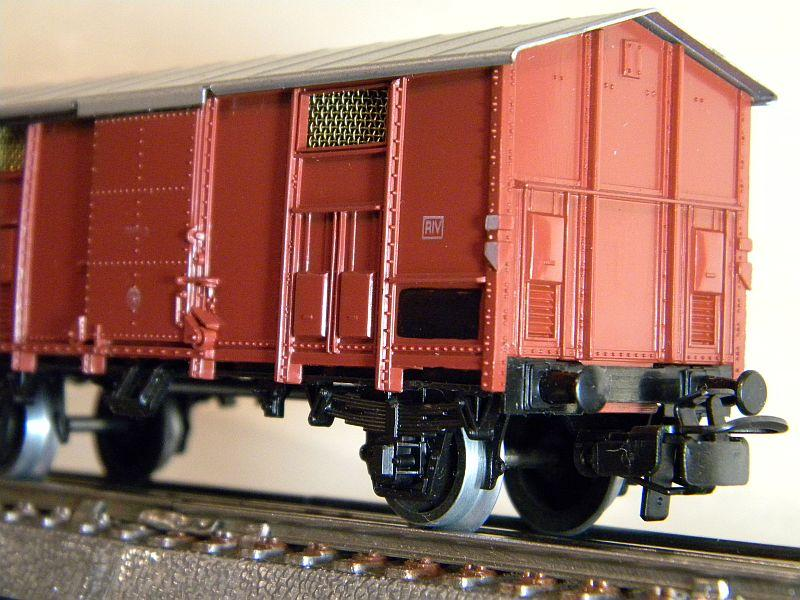 Gedeckter Güterwagen der FS, 2 Achsen, Märklin #4550 10218524ls