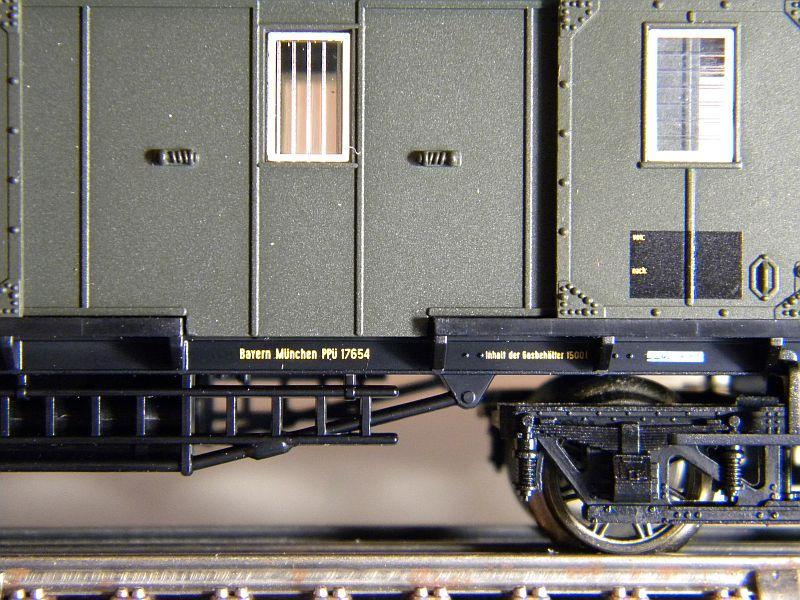 Bayrischer Gepäckwagen 10219207rm