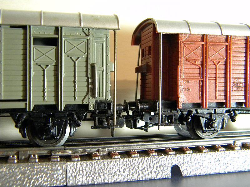 Gedeckter Güterwagen mit Bremserhaus K3 der SBB, Märklin #4605 10222054of