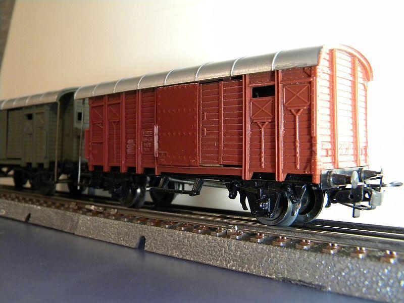 Gedeckter Güterwagen mit Bremserhaus K3 der SBB, Märklin #4605 10222056vd