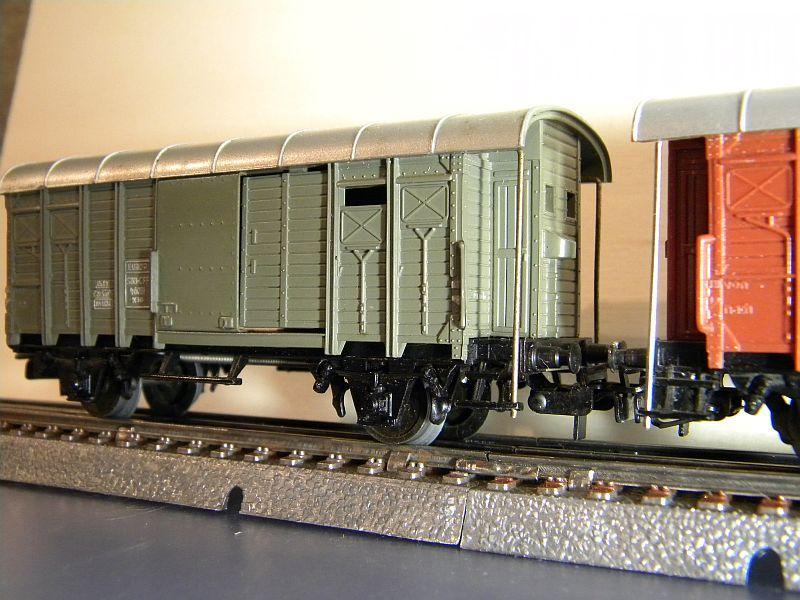 Gedeckter Güterwagen mit Bremserhaus K3 der SBB, Märklin #4605 10222057yt