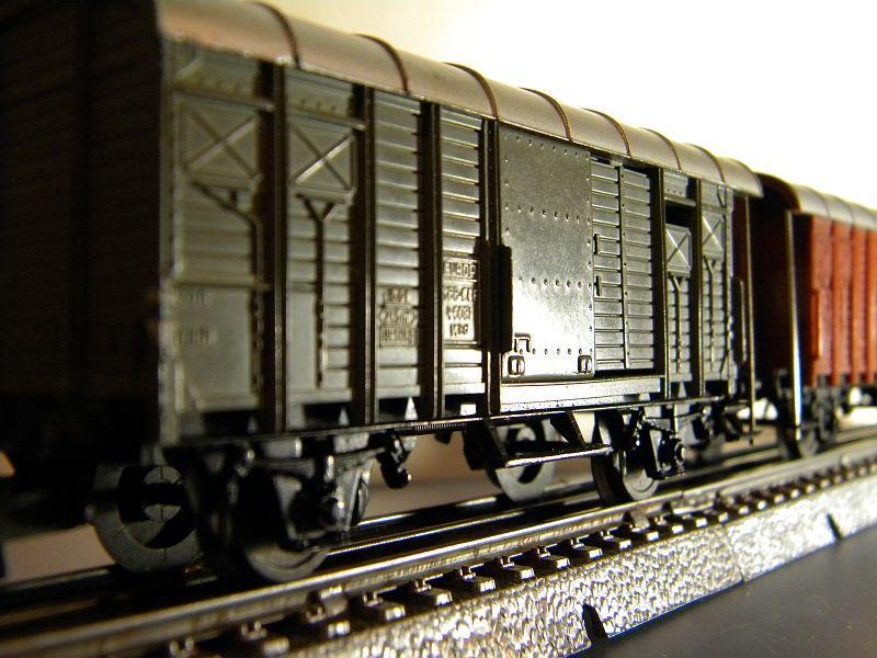 Gedeckter Güterwagen mit Bremserhaus K3 der SBB, Märklin #4605 10222059lw