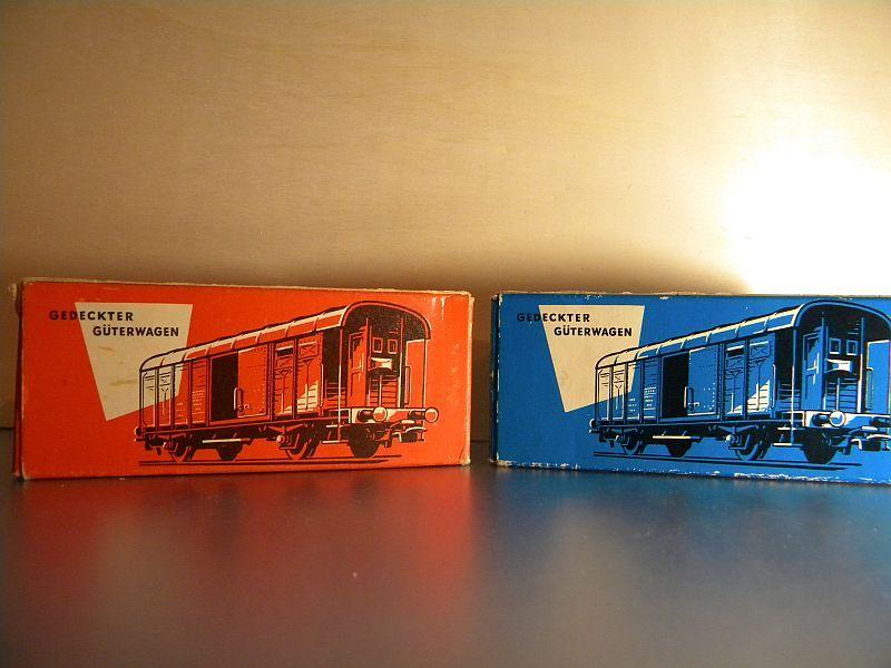 Gedeckter Güterwagen mit Bremserhaus K3 der SBB, Märklin #4605 10222060zi