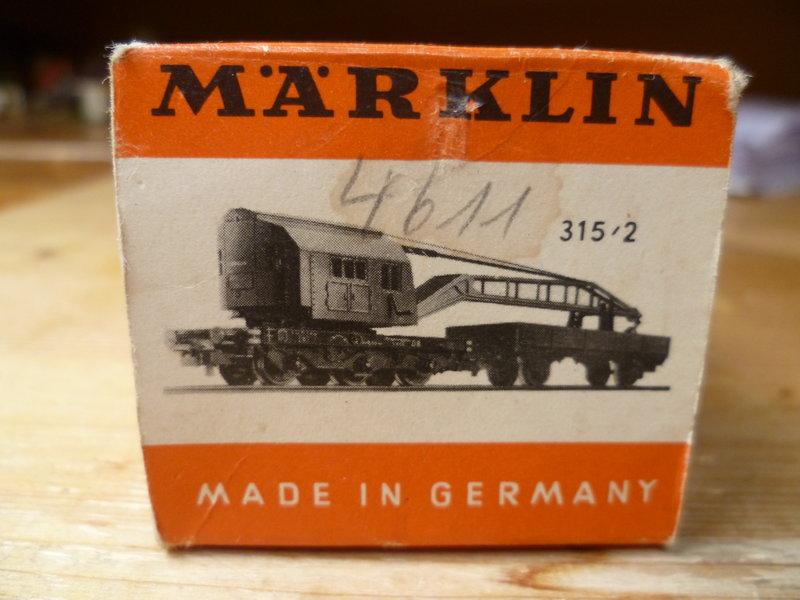 Gedeckter Güterwagen mit Bremserhaus K3 der SBB, Märklin #4605 10226205vg