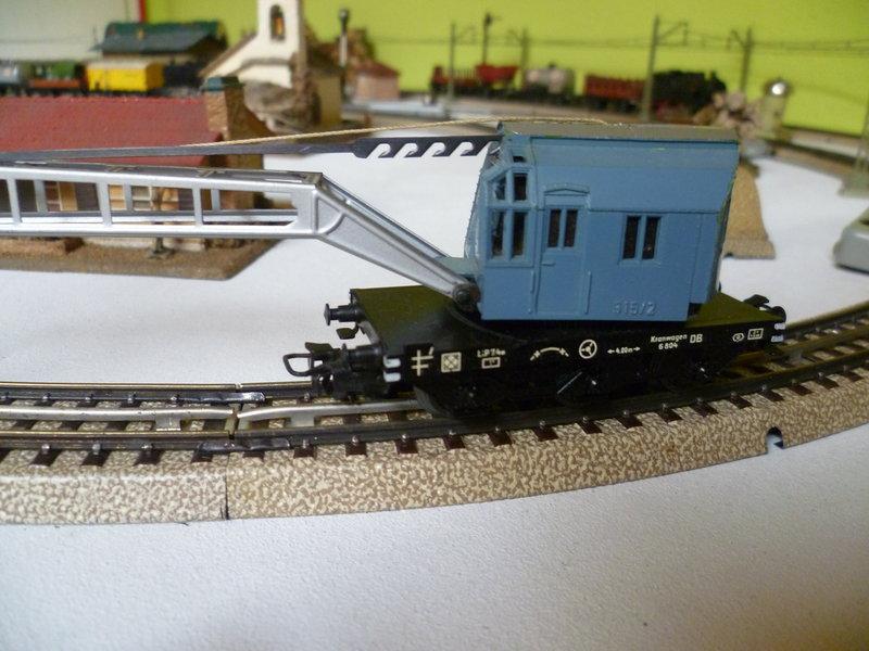 Gedeckter Güterwagen mit Bremserhaus K3 der SBB, Märklin #4605 10226232di