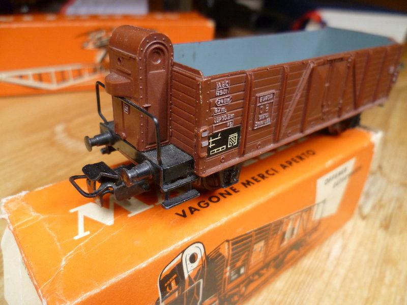 Gedeckter Güterwagen mit Bremserhaus K3 der SBB, Märklin #4605 10226265vl