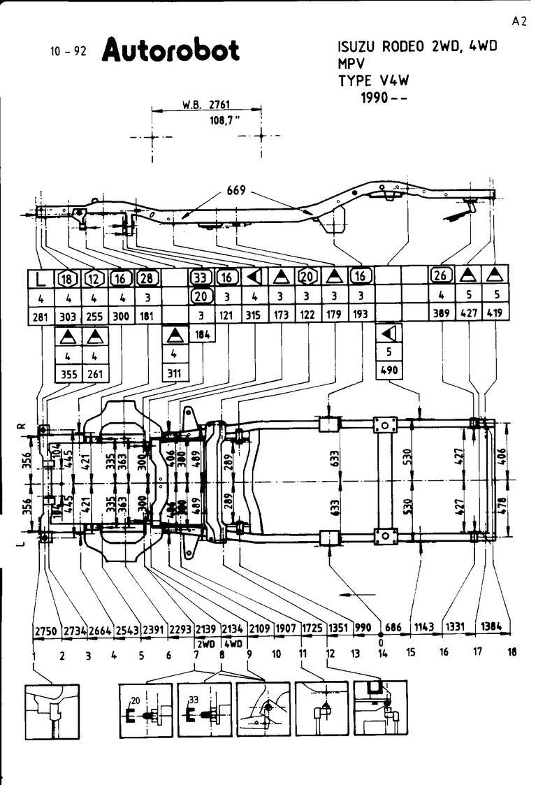Tolle Isuzu Rodeo Rahmen Reparatur Ideen - Benutzerdefinierte ...