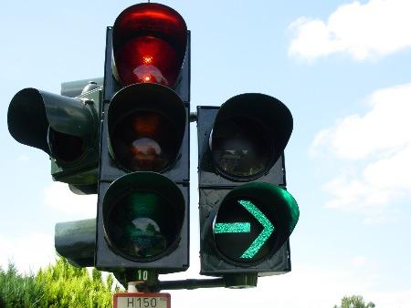 hilfe rote ampel überfahren