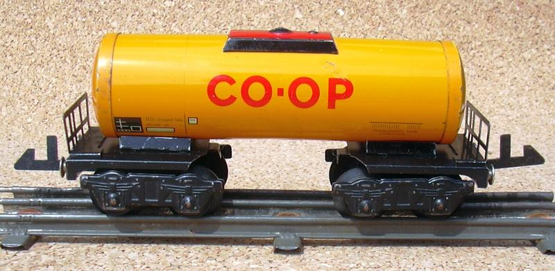 COOP - Kesselwagen von Distler Spur 0 (Drehstrom) 10492981dn