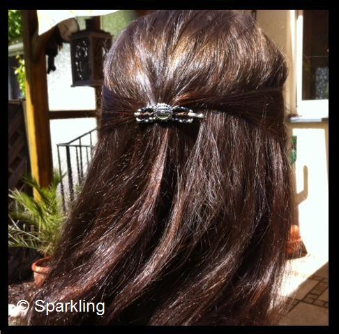 Haare mit indigo farben