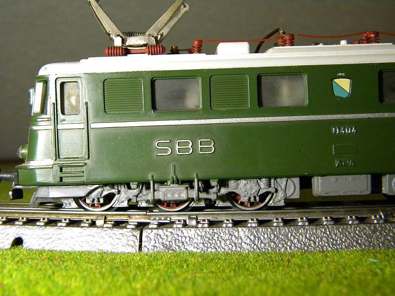 Kleinbahn Ae 6/6 11404 SBB 10599277hm
