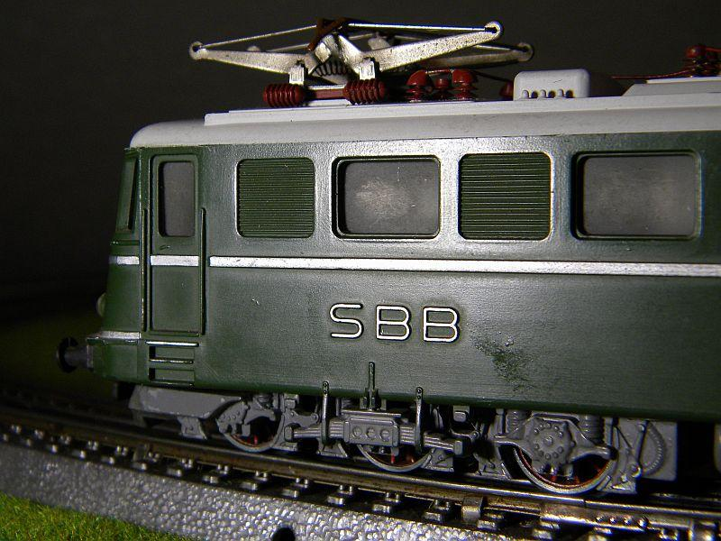 Kleinbahn Ae 6/6 11404 SBB 10599279jm