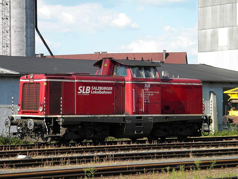 Bahnhof Braunau am Inn: Gleisgroßbaustelle 10607883mg