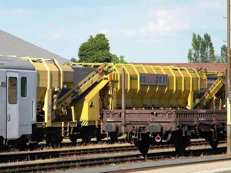 Bahnhof Braunau am Inn: Gleisgroßbaustelle 10607884mh