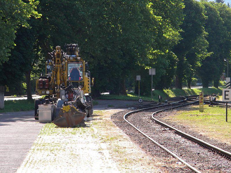 Bahnhof Braunau am Inn: Gleisgroßbaustelle 10607886kj