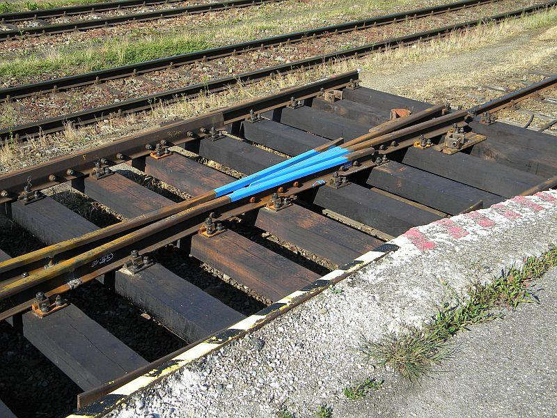 Bahnhof Braunau am Inn: Gleisgroßbaustelle 10608014kv