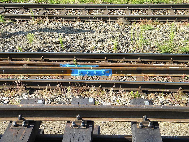 Bahnhof Braunau am Inn: Gleisgroßbaustelle 10608015oh