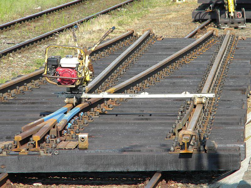 Bahnhof Braunau am Inn: Gleisgroßbaustelle 10608019eg