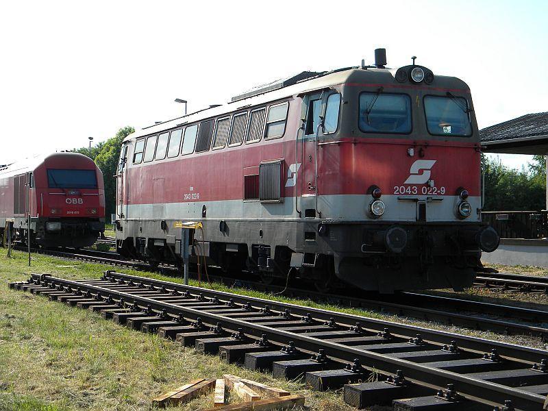 Bahnhof Braunau am Inn: Gleisgroßbaustelle 10608066ev