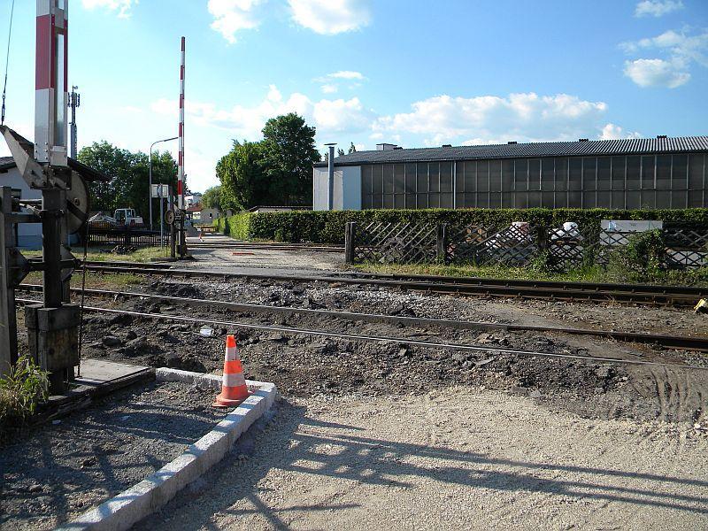 Bahnhof Braunau am Inn: Gleisgroßbaustelle 10608069mj