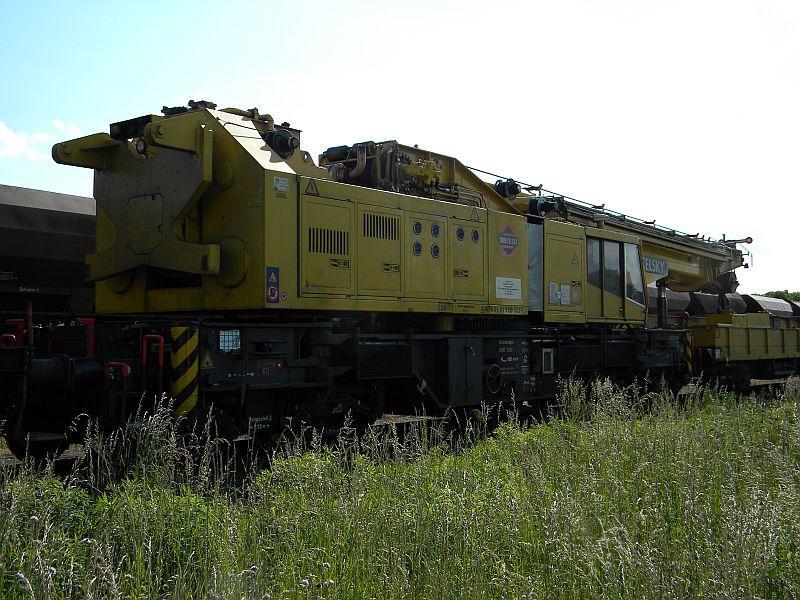 Bahnhof Braunau am Inn: Gleisgroßbaustelle 10608070xq