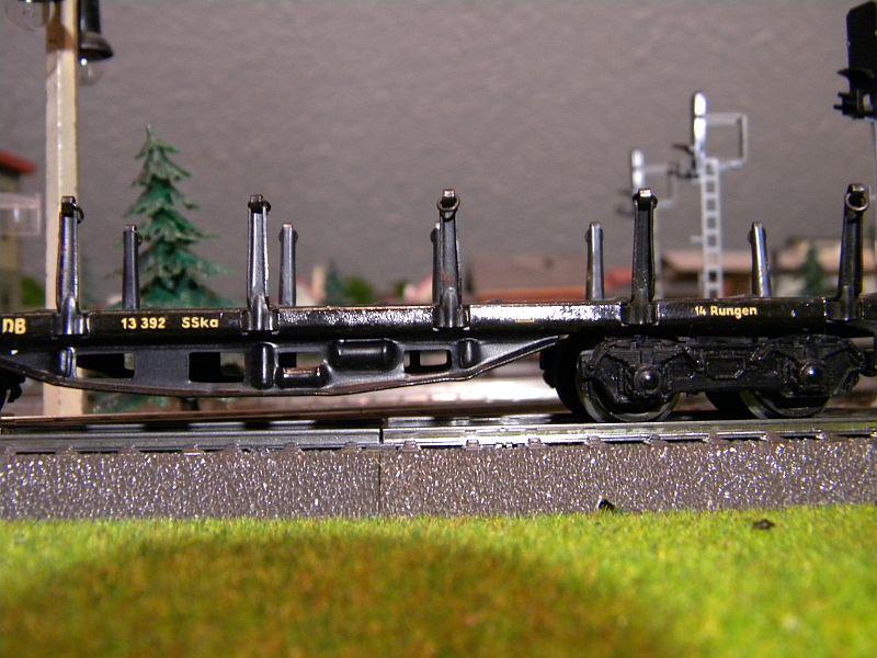 Märklin 4516 / Märklin 392C: Rungenwagen, schwarz 10628520ct