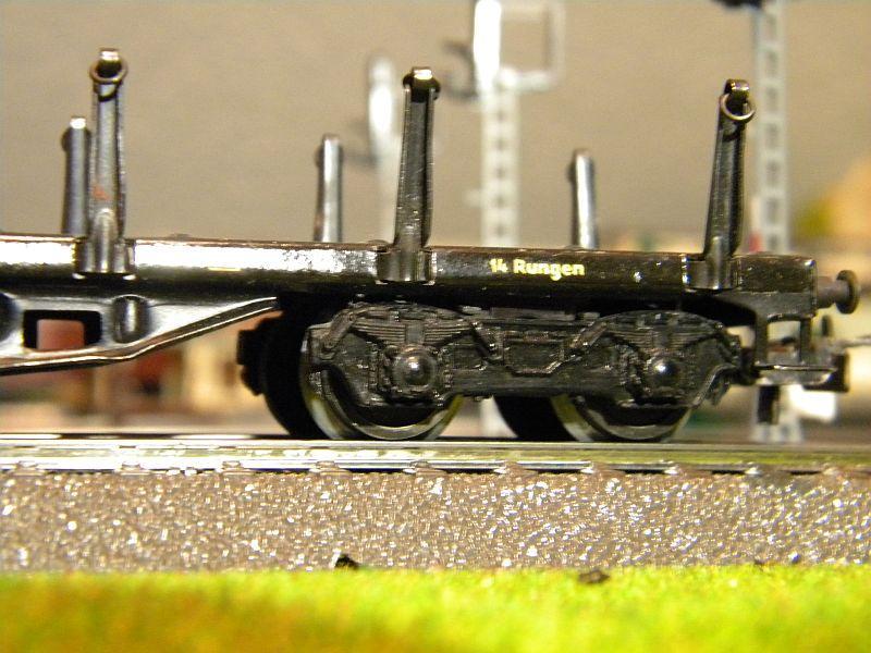 Märklin 4516 / Märklin 392C: Rungenwagen, schwarz 10628522zc