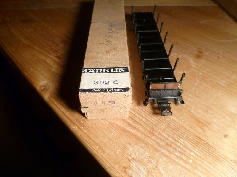 Märklin 4516 / Märklin 392C: Rungenwagen, schwarz 10631323mu