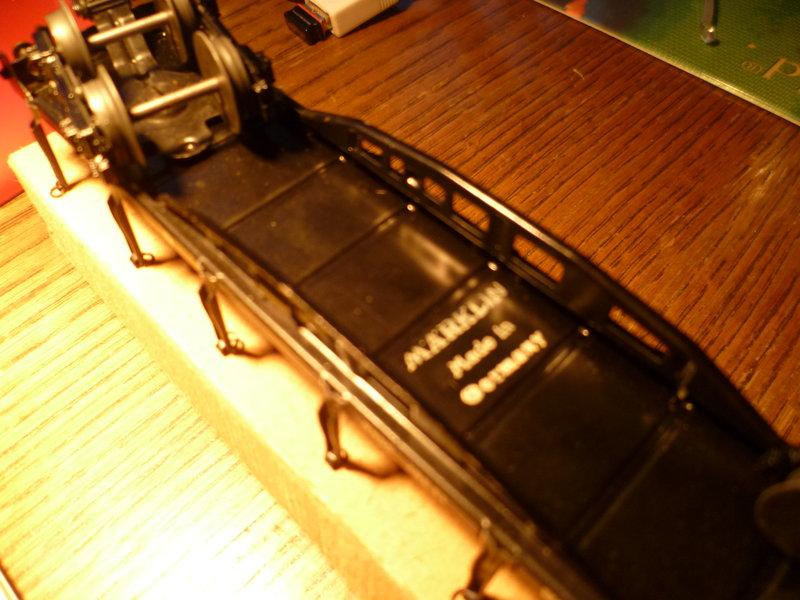 Märklin 4516 / Märklin 392C: Rungenwagen, schwarz 10631343nx