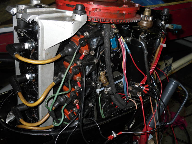Mercury 50 PS Verkabelung Anschluss läuft nicht !!... HIIIILFEEE ...