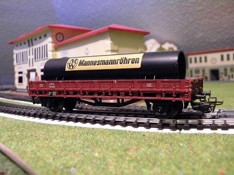 Niederbordwagen Rmms 33 der DB - Märklin-Nummer 4616 10714503td