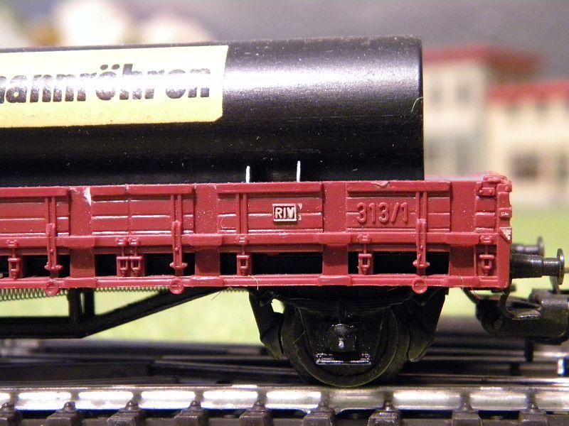 Niederbordwagen Rmms 33 der DB - Märklin-Nummer 4616 10714507is