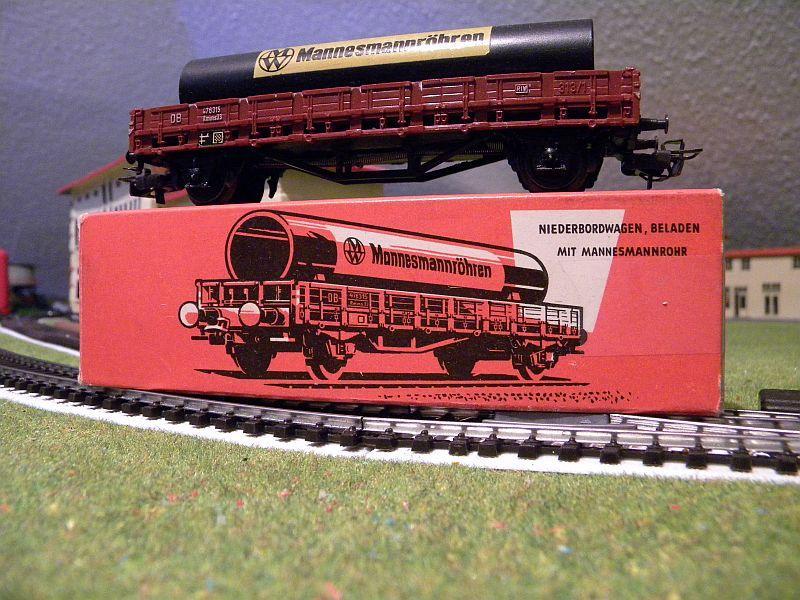 Niederbordwagen Rmms 33 der DB - Märklin-Nummer 4616 10714511so