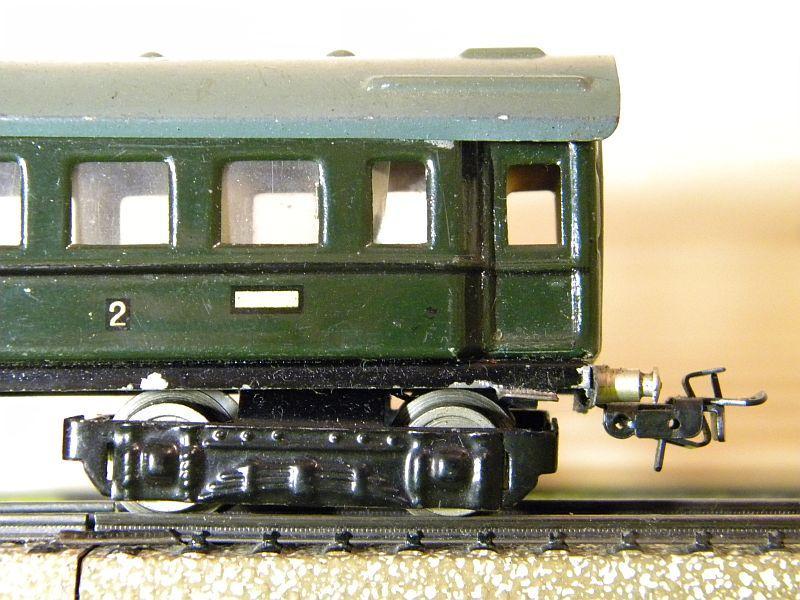 D-Zug-Wagen 1. und 2. Klasse, grün; Märklin-Nummer 341-4 (1938/1939) 10764323dv