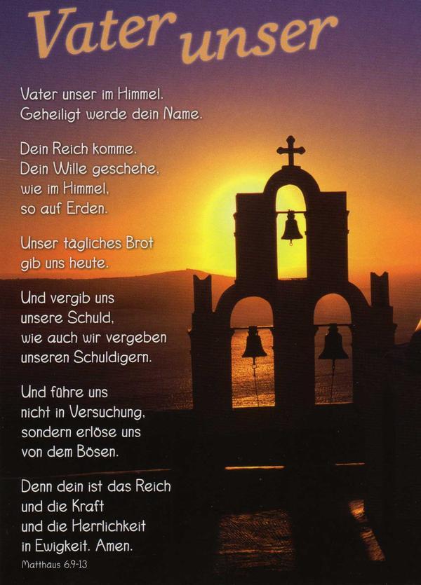 Glaubensbekenntnis Gebet