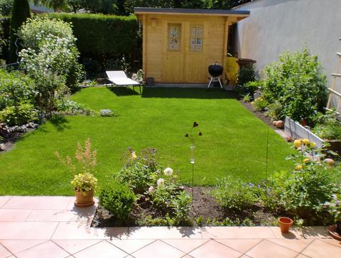 gartengestaltung beispiele reihenhaus – rekem, Garten Ideen